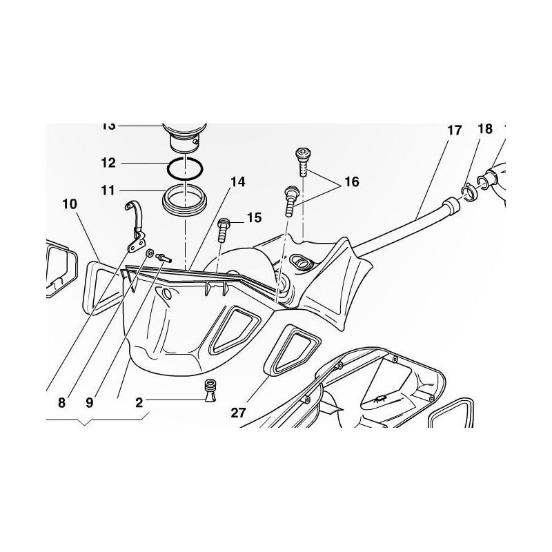 Oem Gasket Airbox Ducati 748 916 996 998