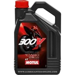 MOTUL 300V 10/40 4L PARA DUCATI