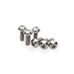 Kit of titanium screws for front brake disc