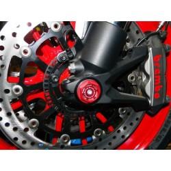 Tapón izquierdo Ducabike para rueda delantera de Ducati
