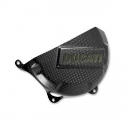 Protector de carter de embrague Ducati Performance en carbono para Panigale