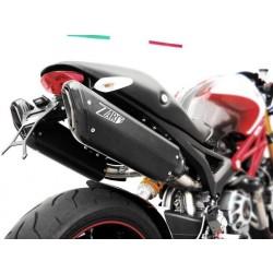 Kit completo ZARD modelo penta para ducati 1100/S en carbono no homologado