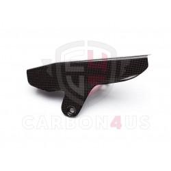 Protector de cadena en carbono para Ducati Monster