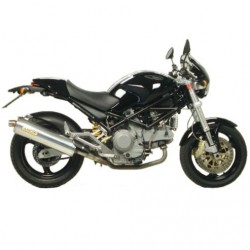 Escapes Arrow para ducati Monster 600 750 900(del ´94 al´99) 1000 800 620 695 BAJOS EN TITANIO HOMOLOGADO