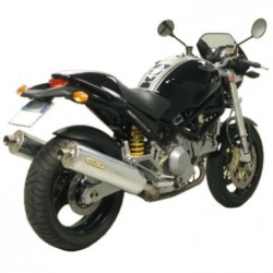 Escapes Arrow para ducati Monster 600 750 900(del ´94 al´99) 1000 800 620 695 BAJOS EN ALUMINIO HOMOLOGADO