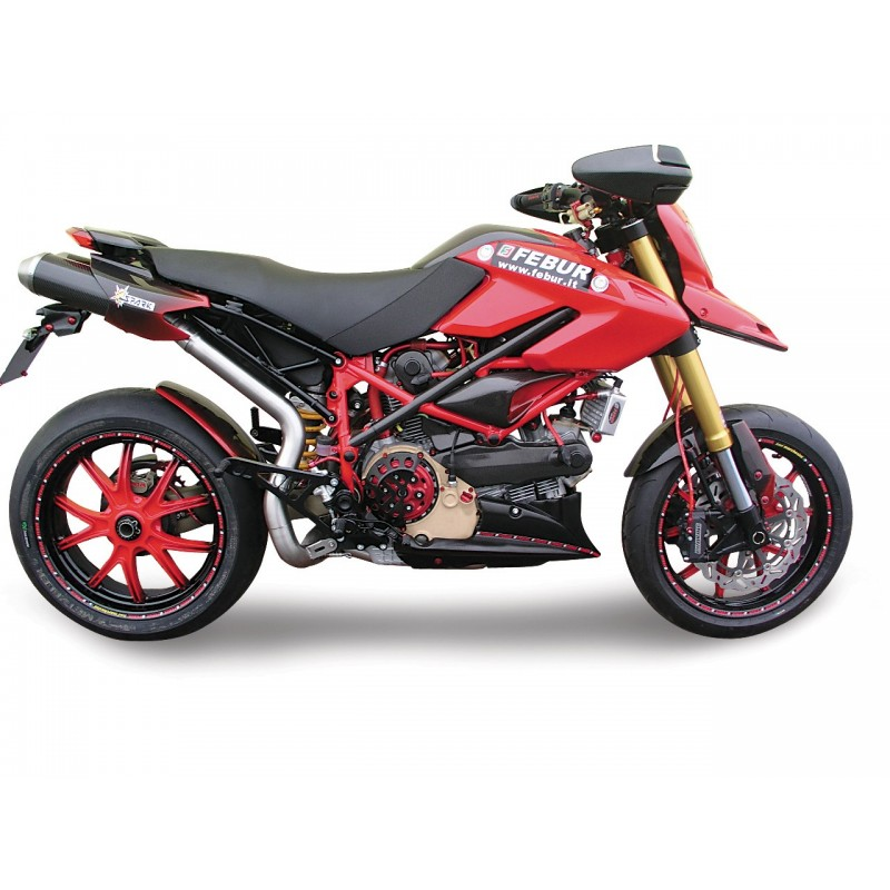 silenceux spark gdu1801 pour ducati hypermotard 796 et 1100 homologu. Black Bedroom Furniture Sets. Home Design Ideas