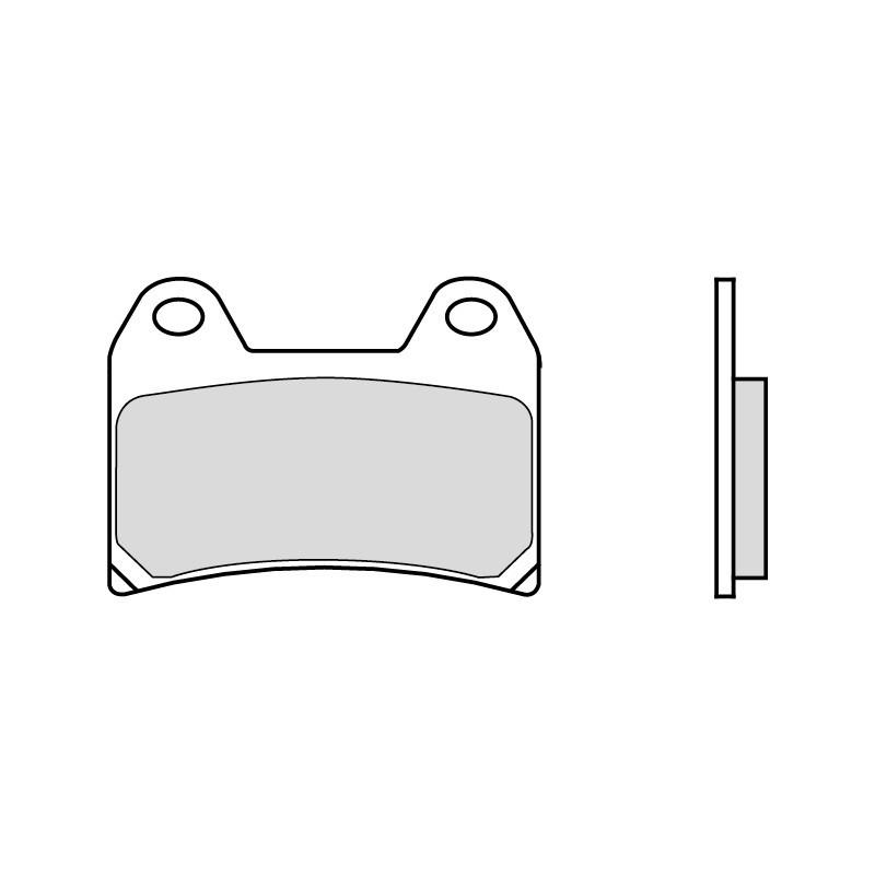 plaquettes de frein brembo racing z04 pour ducati. Black Bedroom Furniture Sets. Home Design Ideas
