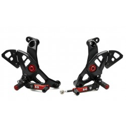 Estriberas regulables TOURING CNC Racing