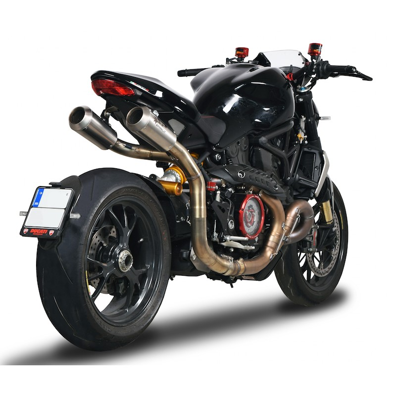 ligne d 39 echappement gp limited titane spark ducati monster 1200r. Black Bedroom Furniture Sets. Home Design Ideas