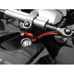 Soporte CNC Racing para amortiguador de dirección Ohlins Ducati