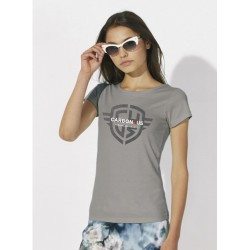 Camiseta Ducati CARBON4US Logo Woman