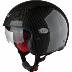 CASCO JET CITY-V CARBON OCB PARA DUCATI