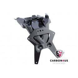 Carbono de suporte de placa