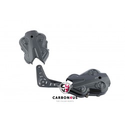 Carbon timing belt cover