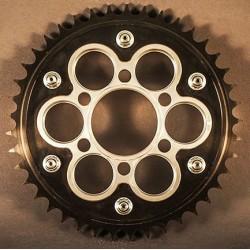 Kit de corona y portacoronas AEM Factory para Ducati