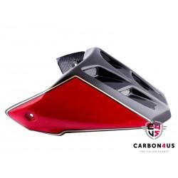 Capot de selle MotoGP carbone rouge