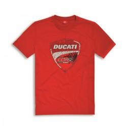 Camiseta Roja Ducati Corse 17 Graphic