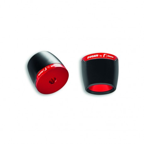Ducati Performance By Rizoma Red Handlebar Ends