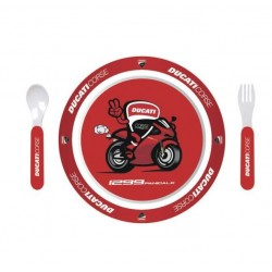 Kit de cubiertos Infantil Ducati Corse