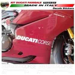 Kit de pegatinas Ducati Corse para Carenado