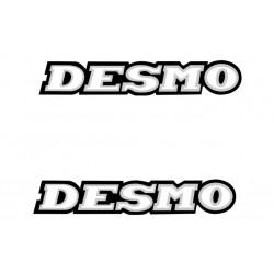 Set pegatinas DESMO
