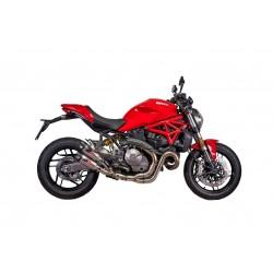 Quat-D GunShot Euro4 Exhaust for Ducati Monster 821