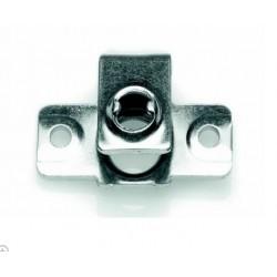 Soporte tornillo rapido en aluminio