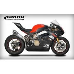 Système d'échappement Spark Konix - Ducati Panigale V4.