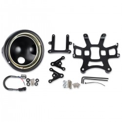 Kit faro delantero JW Speaker con montaje -Ducati Monster 696/796/1100/Evo