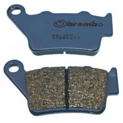 Pastillas de freno traseras Brembo para Ducati.