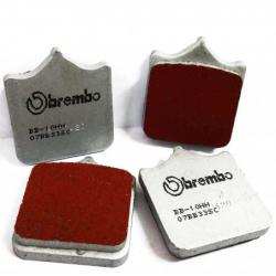 Plaquettes de frein frittées Brembo