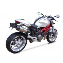 Escape Zard cónico Homologado para Ducati Monster 696/796/1100-S