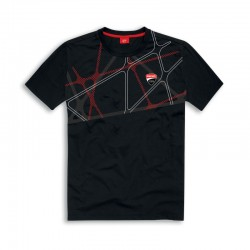Camiseta Ducati Corse Graphic Black