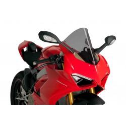 Cúpula Racing ahumado claro para Ducati Panigale V4.