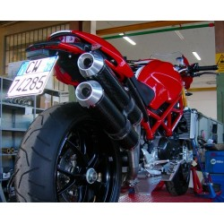 Escape Modular System carbono Ducati S4RS