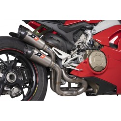 Escape QD Twin Gunshot para Panigale V4