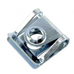 Grapa soporte de tornillo rapido en aluminio