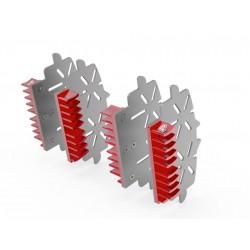 Disipador pinzas de freno Rojo Ducabike