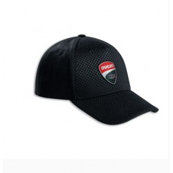 Gorra Ducati de la línea Carbon Black