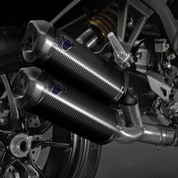 Kit silencioso Termignoni carbono para Ducati 1100 Evo