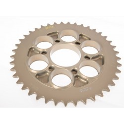 Corona SITTA 38 dientes aligerada de Aluminio Ducati