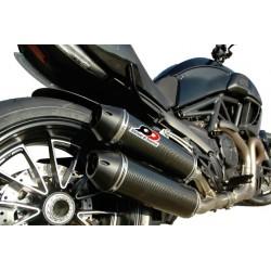 Escape Magnum Homologado Carbono Ducati Diavel