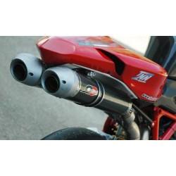 Escape QD Modular System Homologado en carbono Ducati