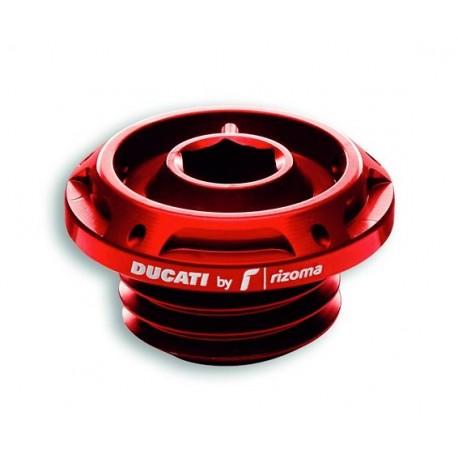 Tapón de aceite Ducati by Rizoma Rojo