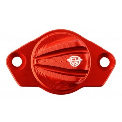 Carbon4us Rosso Ducati Timing inspection cover