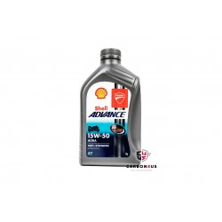 Aceite Shell Advance Ultra 15W-50 para Ducati.