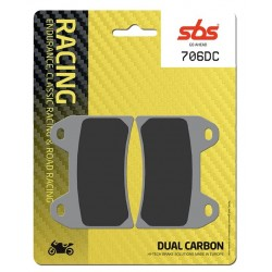 Racing race ceramic-carbon brake pads