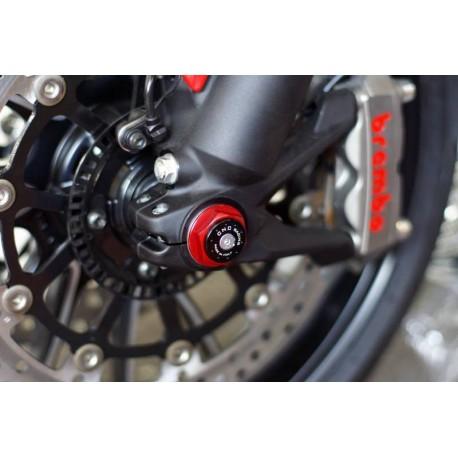 Tapón izquierdo de rueda delantera CNC Racing