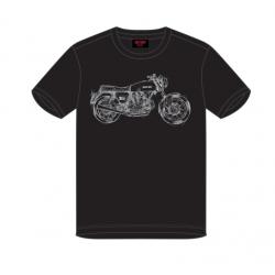 Camiseta 750 GT Ducati History