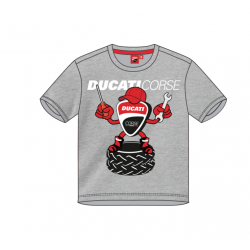 Camiseta para Niños Logo Mecánico Ducati Corse